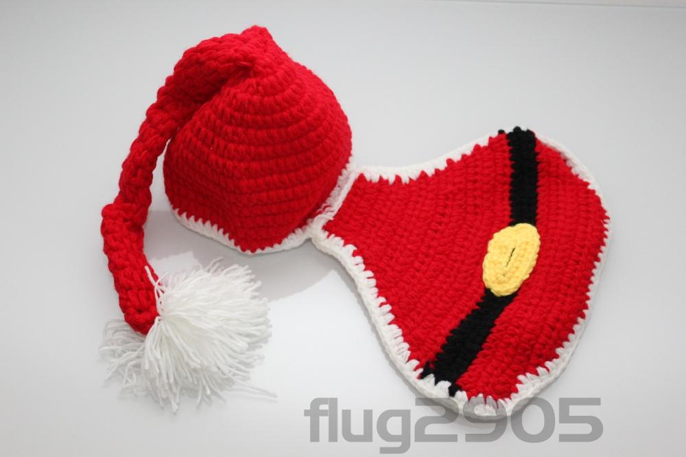 Hüte & Mützen Nikolaus Fotoshooting Für Weihnachten Newborn Neugeborenen Fotografie