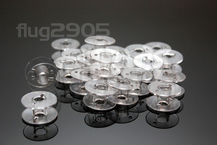 50 CB-Unterfadenspulen aus Kunststoff