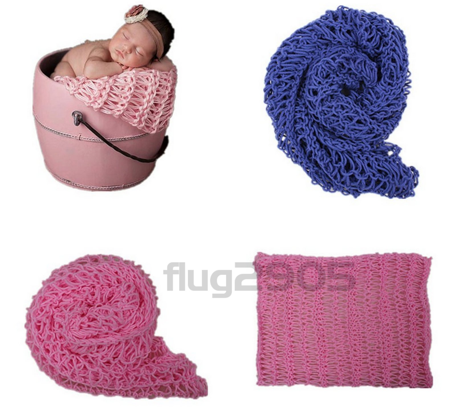 baby wrap grobstrick decke rosa fotoshooting newborn. Black Bedroom Furniture Sets. Home Design Ideas